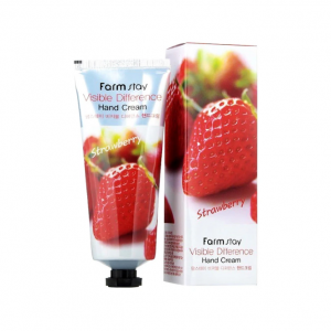 FARM STAY VISIBLE DIFFERENCE HAND CREAM (Strawberry)