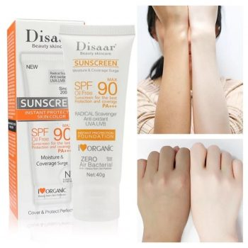 Disaar Facial Body Whitening Sunscreen Cream Spf 90 Sun Block 40 gm