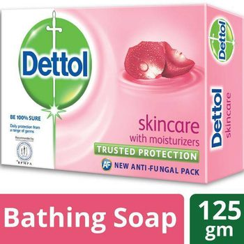 Dettol Soap Skincare Bathing Bar Soap-125gm