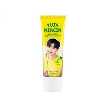 Yuja Niacin Mineral 100 Brightening Sun Cream 25g
