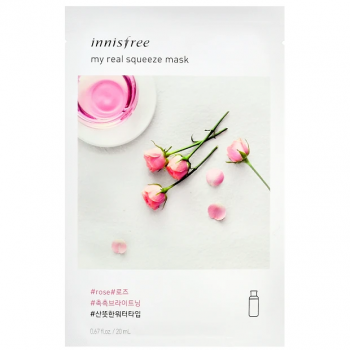 Innisfree My real squeeze mask – rose 20ml