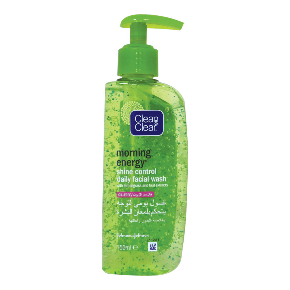 Clean & Clear Morning Energy Shine Control Facial Wash 150 ml