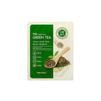 The chok chok green tea watery sheet mask