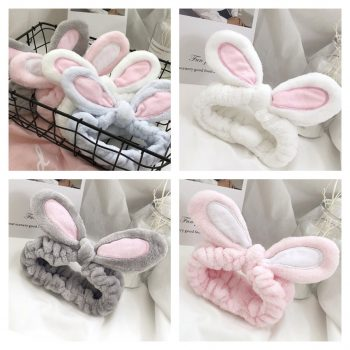 Cute Rabbit Ear Hair Band Random Color