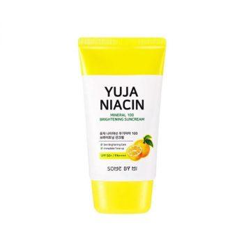 Yuja Niacin Mineral 100 Brightening Suncream SPF50+ PA++++ 25 ml