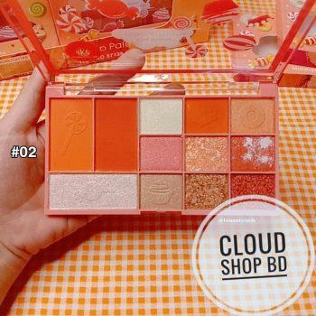 kiss beauty Candy makeup Palette 28 gm
