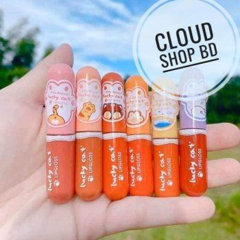 Kiss Beauty Lucky Cat 6pcs Lipstick set