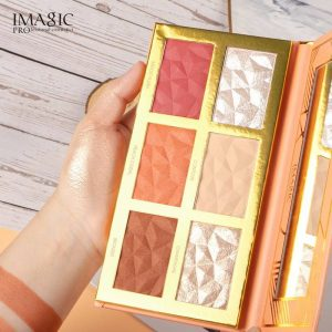 Imagic 3 in 1 cheek palate HIGHLIGHT,BLUSH AND CONTOUR PALETTE