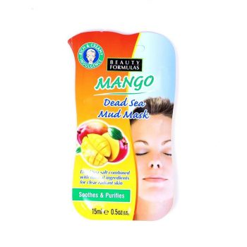 Beauty Formulas Mango Dead Sea Mud Mask (15ml)