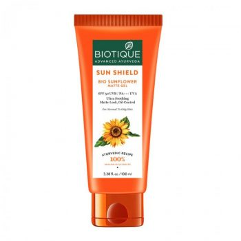 Biotique Bio Sunflower Matte Sunscreen Gel (100ml)