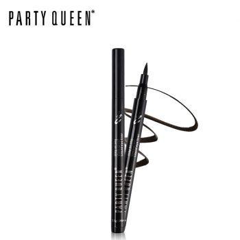 Party Queen Long Lasting Waterproof Liquid Sharp Black Brown Eyeliner