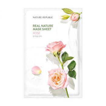 Nature Republic REAL NATURE ROSE MASK SHEET