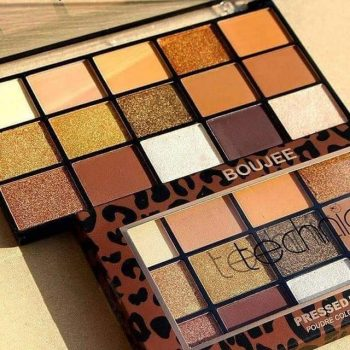 Technic Cosmetics - Pressed Pigment Eyeshadow Palette - Boujee