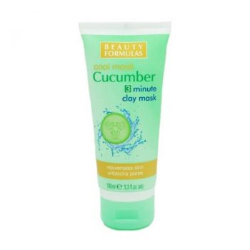 Beauty Formulas Cucumber 3 Minute Clay Mask (100ml)