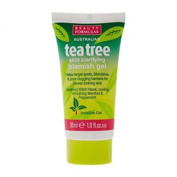 Beauty Formulas Tea Tree Skin Clarifying Blemish Gel (30ml)