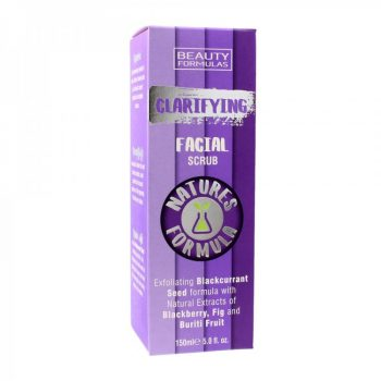 Beauty Formulas Clarifying Facial Scrub (150ml)
