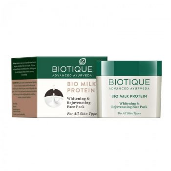 Biotique Milk Protein Whitening And Rejuvenating Face Pack (50gm)