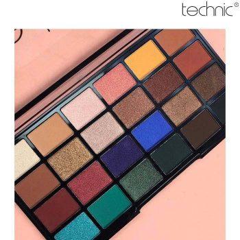Technic 24 Color Eye Shadow Palette - Trendsetter - 28gm