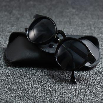VISTA TRANSPARENT Sunglass - Black