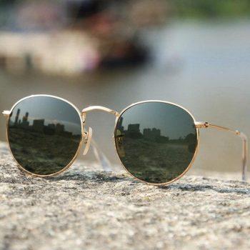 Baby Pop Sunglass- Golden/Black