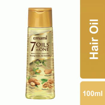 Emami 7 Oils in One Non Sticky Hair Oil (100ml)