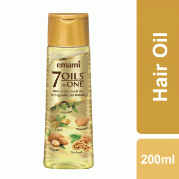 Emami 7 Oils in One Non Sticky Hair Oil (200ml)