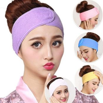 Bath Makeup Hair Wrap Towelings Head Band
