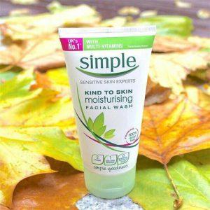 Simple Kind to Skin Moisturising Face Wash (50ml)