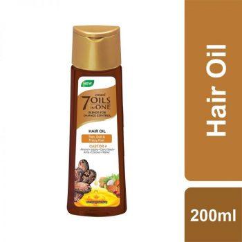 Emami 7 Oils In One Castor+ Hair Oil (200ml)