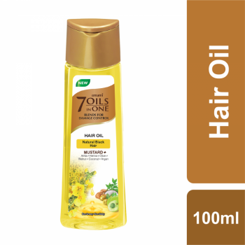 Emami 7 Oils In One Mustard+ Hair Oil (100ml)