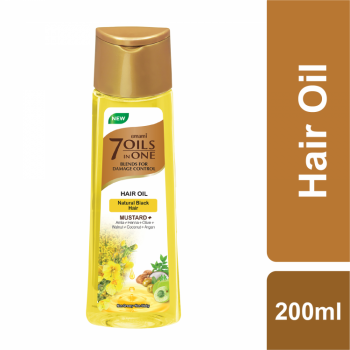 Emami 7 Oils In One Mustard+ Hair Oil 200ml