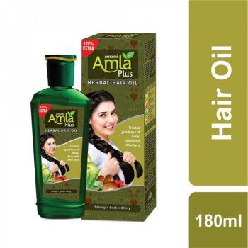 Emami Amla Plus Herbal Hair Oil (180ml)