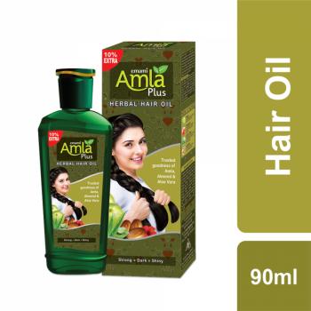Emami Amla Plus Herbal Hair Oil (90ml)