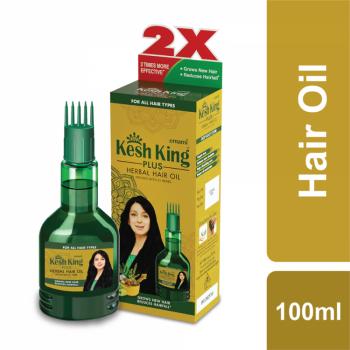Kesh King Plus Herbal Hair Oil (100ml)