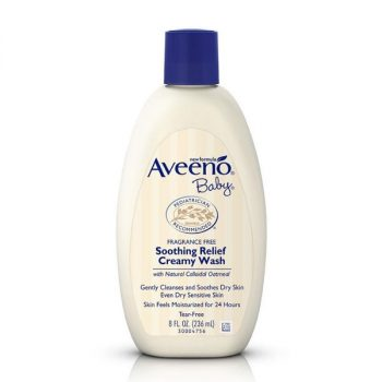 Aveeno Baby Soothing Relief Creamy Wash (236ml)