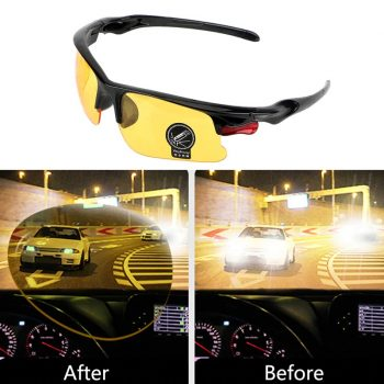 Night Vision cycling glasses for cyclists and bikers