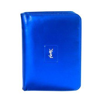 YSL Sky Blue Styliest Wallet For Men