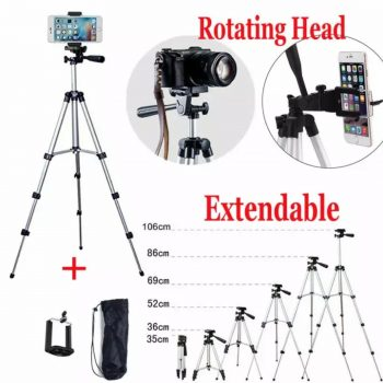 Shooting Tripod 3110 DSLR & Phone Camera 40 Inch Stand - High QuaIity