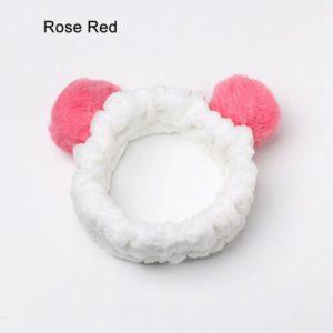 Women Ladies Fluffy Elastic Hairband Band Panda Ear Cute Head Lovely Hair Band